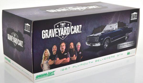 "Plymouth Belvedere GTX ""TV Serie Graveyard Carz"" Blauw 1-18 Greenlight Collectibles"
