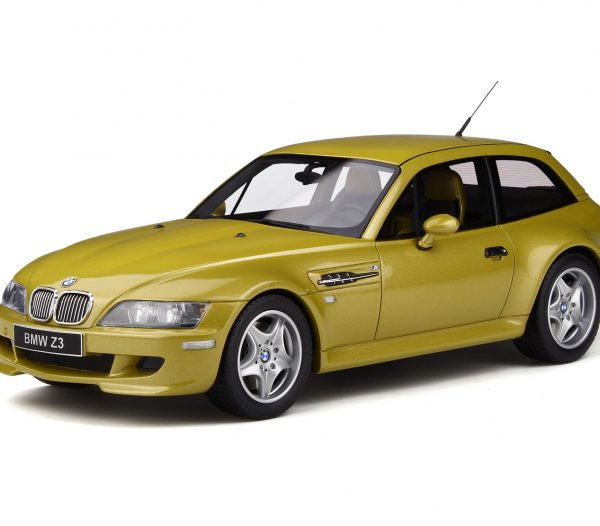 BMW Z3 M Coupe 3.2 1999 Phoenix Yellow 1-18 Ottomobile Limited 999 Pieces