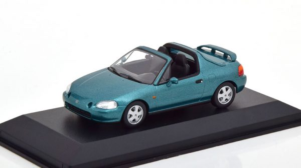 Honda CR-X De Sol 1992 Groen Metallic 1-43 Maxichamps