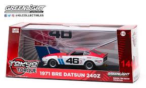 Datsun 240Z Bre 1971 Nr# 46 John Morton 1-43 Greenlight Collectibles