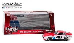 Datsun 240Z Bre 1971 Nr# 46 John Morton 1-43 Greenlight Collectibles