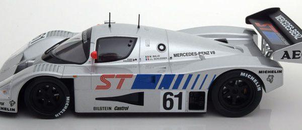 Sauber-Mercedes C9 #61 Winner 400 km Suzuka 1989 Drivers: Baldi/Schlesser 1-18 Norev