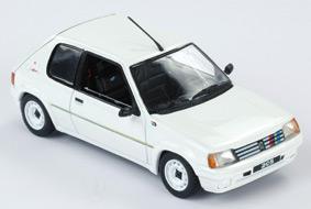 Peugeot 205 Rallye 1988 Meije White 1-43 Norev