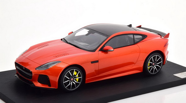 Jaguar F-Type SVR Coupe Firesand Metallic 1-43 True Scale Models