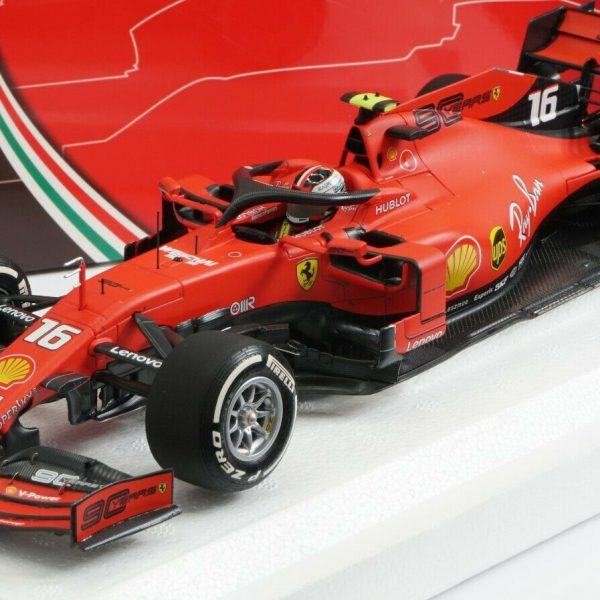 Ferrari SF90 Nr# 16 GP Australian 2019 C.Leclerc 1-18 BBR Models