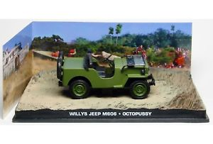 "Willys Jeep M606 Groen ""Octopussy "" 1-43 Altaya James Bond 007 Collection"