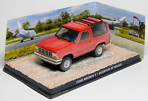 "Ford Bronco II Rood ""Quantum of Solace"" 1-43 Altaya James Bond 007 Collection"