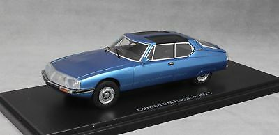 Citroen SM 1971 Espace by Heuliez 1971 1:43 Blauw Metallic Neo Scale Models