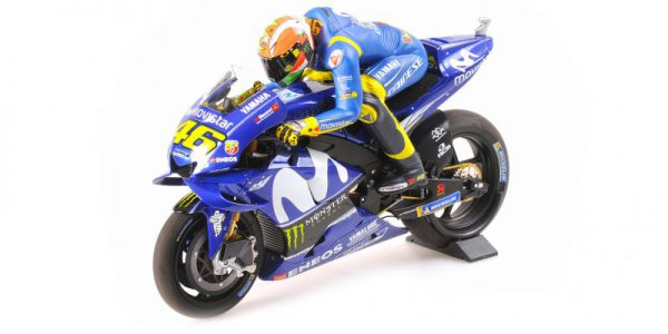 Yamaha YZR-M1 Valentino Rossi Movistar Yamaha MotoGP 2018 Pole Position Mugello 2018 Minichamps 1-12 Limited 1002 Pieces