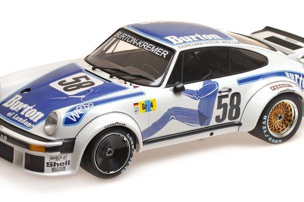"""Porsche 934 """"Porsche Kremer Racing"""" Winners Group IV Le Mans 24Hrs 1977 Wollek / Gurdjian / Steve 1-12 Minichamps"""