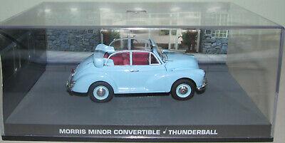 "Morris Minor Convertible James Bond ""Thunderball"" 1-43 Altaya James Bond 007 Collection"