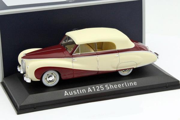 Austin A125 Sheerline 1947 Beige/Dark Red 1-43 Norev