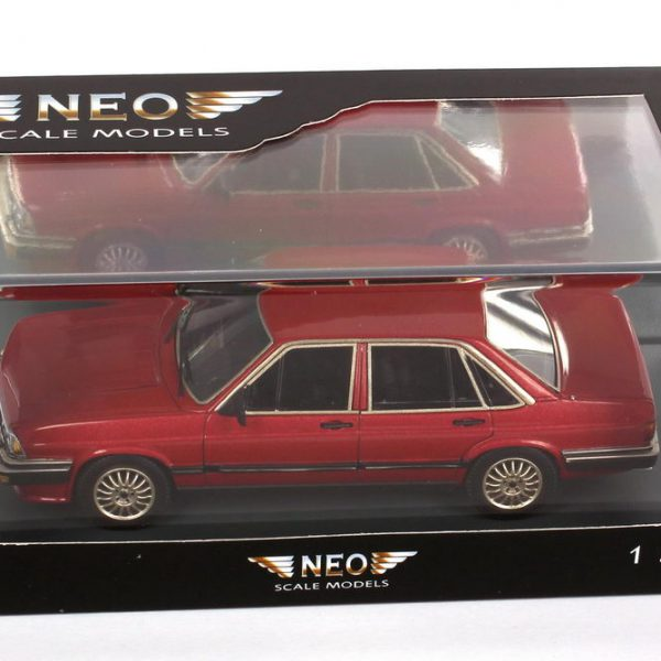 Audi 200 5T 1980 Rood metallic 1-43 Neo Scale Models