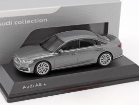 Audi A8 L 2017 Limousine Monsun Grijs 1-43 Iscale