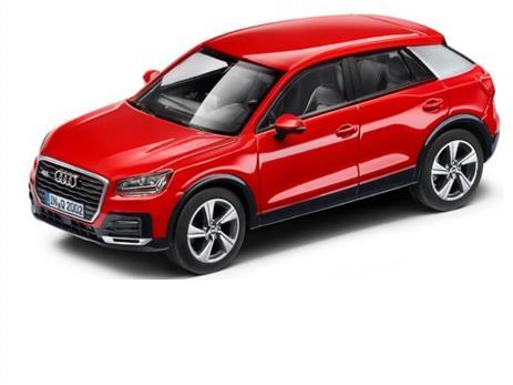 Audi Q2 Tango Red 1-43 Iscale