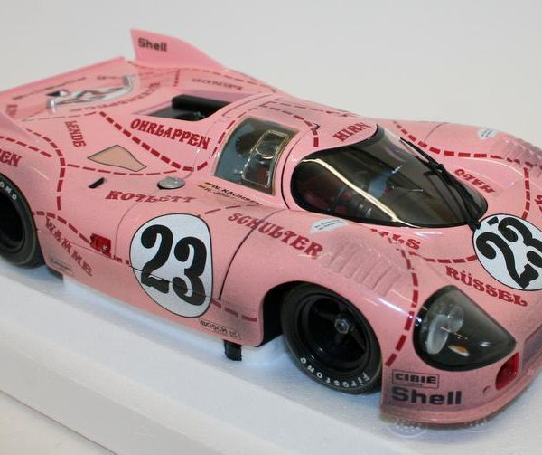 Porsche 917/20 Pink Pig 24 Hrs Le Mans 1971 Dirty Version Van Lennep / Kauhsen 1-18 Minichamps Limited 1128 Pieces