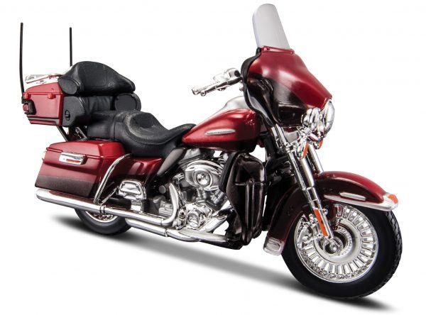 Harley-Davidson 2013 FLHTK Electra Glide Ultra Rood 1-18 Maisto