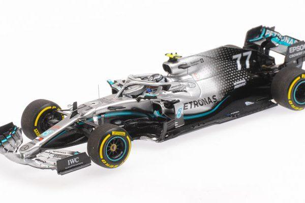 Mercedes-AMG F1 Petronas Motorsport W10 EQ Power+ V.Bottas Winner GP USA 2019 Minichamps 1-43 Limited 319 Pieces