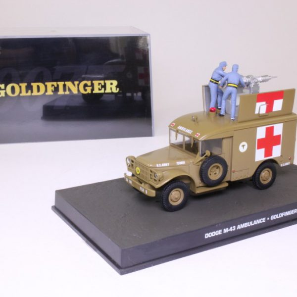 "Dodge M-43 Ambulance James Bond ""Goldfinger"" 1-43 Altaya James Bond 007 Collection"