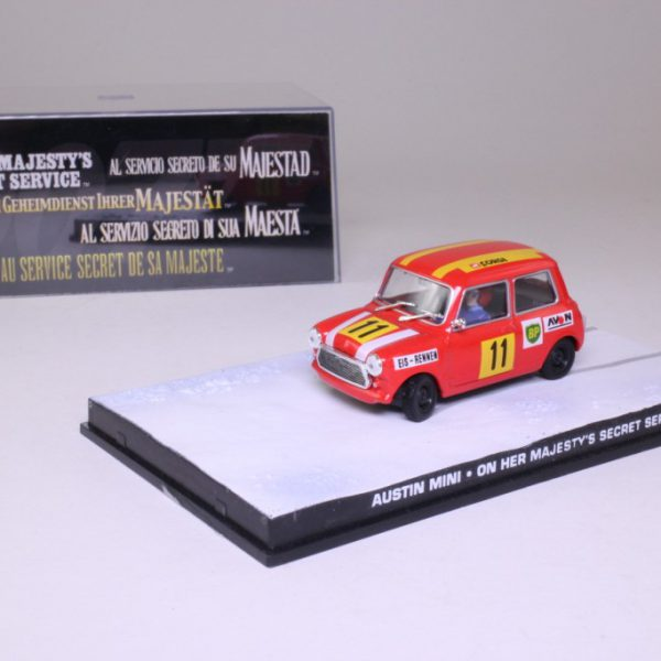 "Austin Mini James Bond ""On Her Majesty's Secret Service"" 1-43 Altaya James Bond 007 Collection"