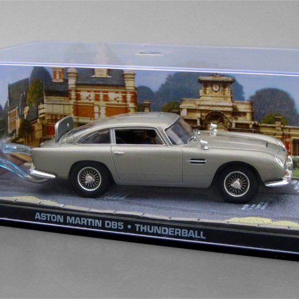"Aston Martin DB5 James Bond ""Thunderball"" Grijs 1-43 Altaya James Bond 007 Collection"