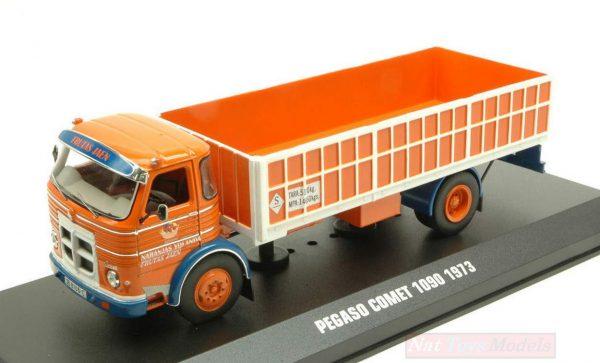 Pegaso Comet 1090, Frutas Jaen, 1973, Oranje / Wit 1-43 Ixo Models