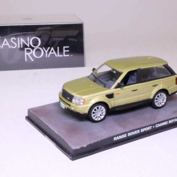 "Range Rover Sport James Bond ""Casino Royale "" 1-43 Altaya James Bond Collection"