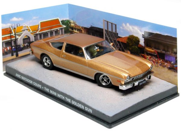 "AMC Matador Coupe James Bond ""The Man with The Guolden Gun"" 1-43 Altaya James Bond 007 Collection"