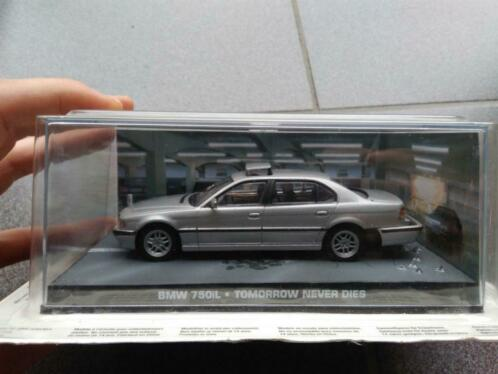 "BMW 750IL James Bond ""Tommorrow Never Dies"" 1-43 Altaya James Bond 007 Collection"