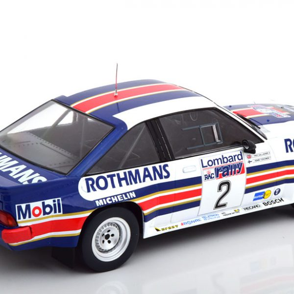 "Opel Manta 400 No. 2, RAC Rally 1983 ""Rothmans"" N.Toivonen/F.Gallagher 1-18 Ixo Models"