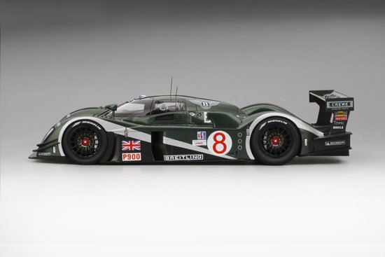 Bentley Speed 8 #8 2003 Sebring 12Hrs 3e Place M.Blundell 1-18 True Scale Miniatures