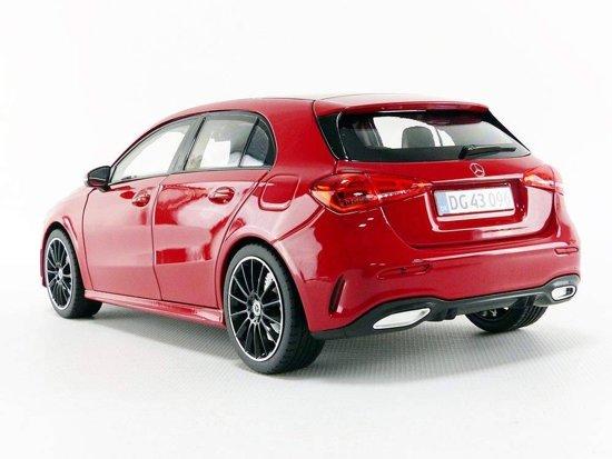 Mercedes-Benz A-Klasse 2018 Rood 5-Deurs 1-18 Norev