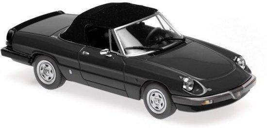 Alfa Romeo Spider 1983 Black 1-43 Maxichamps