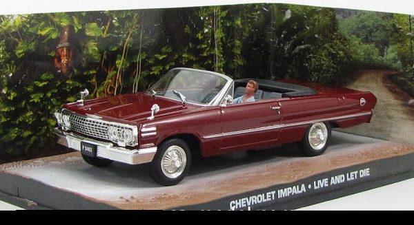 "Chevrolet Impala James Bond ""Live and Let Die"" 1-43 Altaya James Bond 007 Collection"