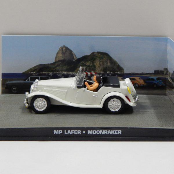 """MP Lafer James Bond """"Moonraker"""" 1-43 Altaya James Bond 007 Collection"""