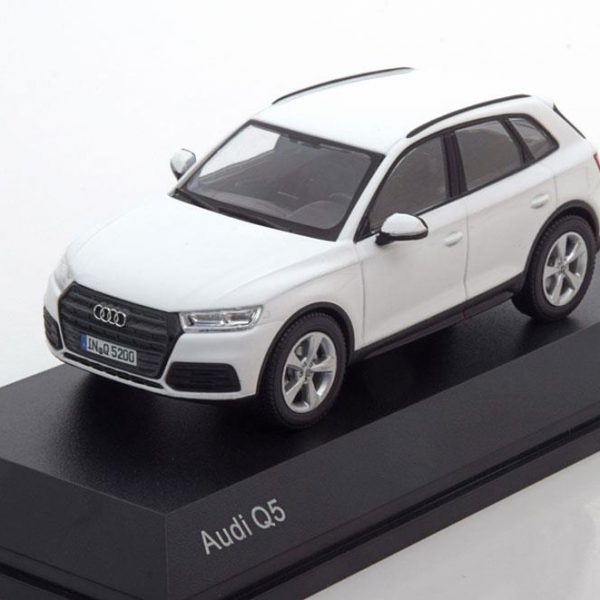 Audi Q5 2016 Wit 1-43 Iscale