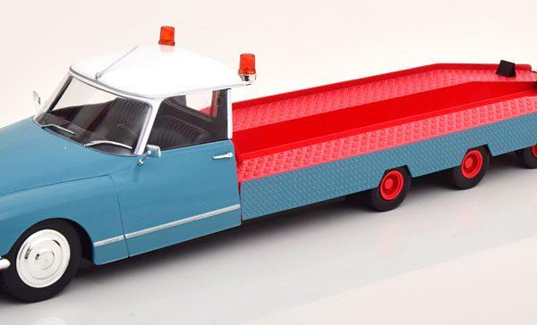 Citroen DS Tissier Autotransporter 1970 Blauw / Rood 1-18 CMR ( Model niet erbij )