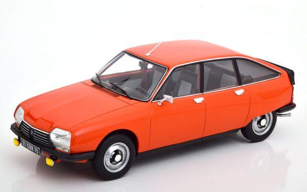 Citroen GS X2 1978 Oranje 1-18 Norev