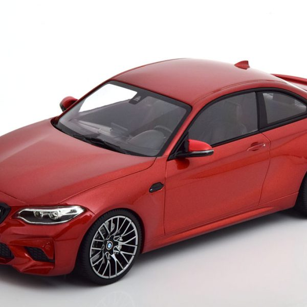 BMW M2 Competition 2019 Oranje Metallic 1-18 Minichamps Limited 504 Pieces