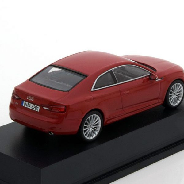 Audi A5 Coupe 2016 Rood 1-43 Spark