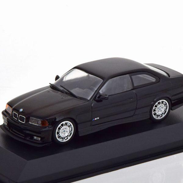 BMW M3 E36 Coupe 1992 Zwart 1-43 Maxichamps