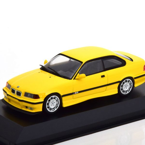 BMW M3 E36 Coupe 1992 Geel 1-43 Maxichamps