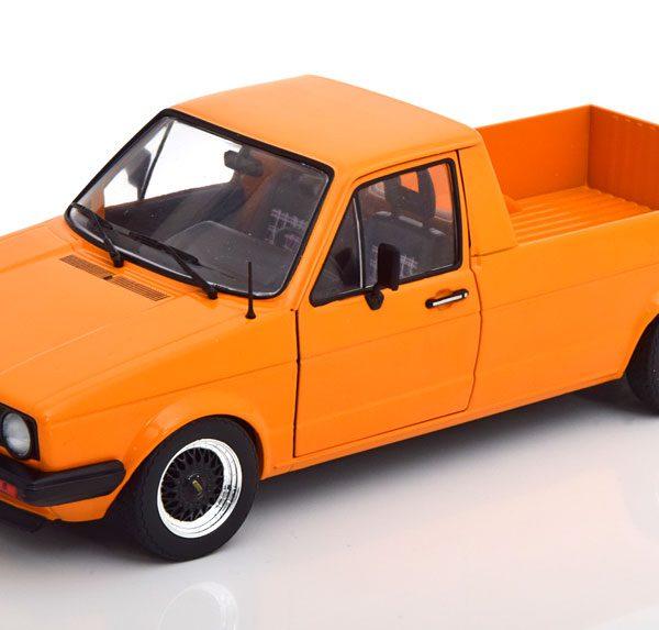 Volkswagen Caddy MK1 Custom Oranje 1-18 Solido
