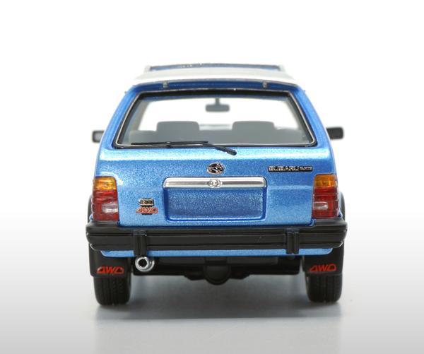 Subaru Leone 1800 1983 Blauw 1-43 DNA Collectibles Limited 370 Pieces