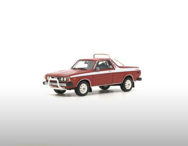 Subaru Brat 1978 Rood 1-43 DNA Collectibles Limited 320 Pieces