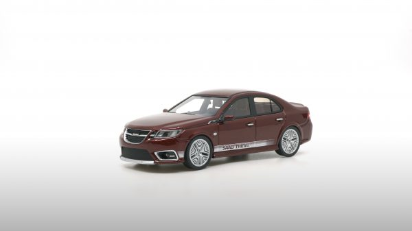 Saab 9-3 Turbo prototype 2014 Bordeaux Rood 1-43 DNA Collectibles Limited 320 Pieces