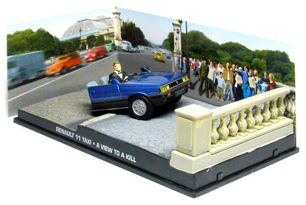"Renault 11 Taxi ( Half - Car ) James Bond ""A View to a Kill"" 1-43 Altaya James Bond Collection"