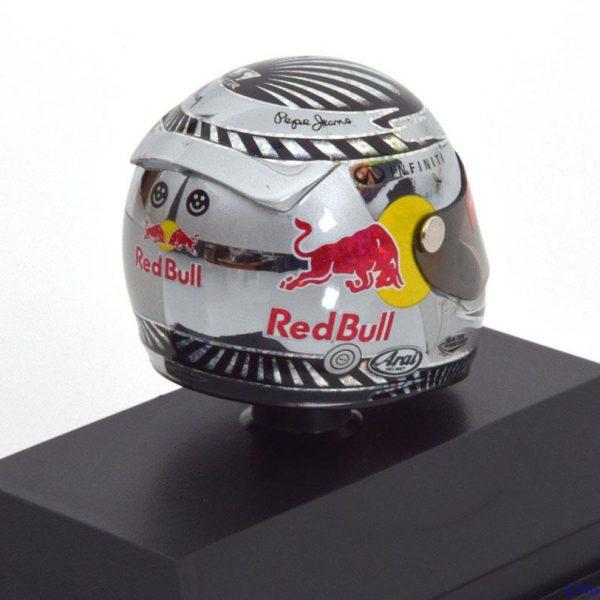 Helm Sebastian Vettel Arai Helm GP Brazilian , World Champion 2012 Red Bull Racing 1-8 Minichamps