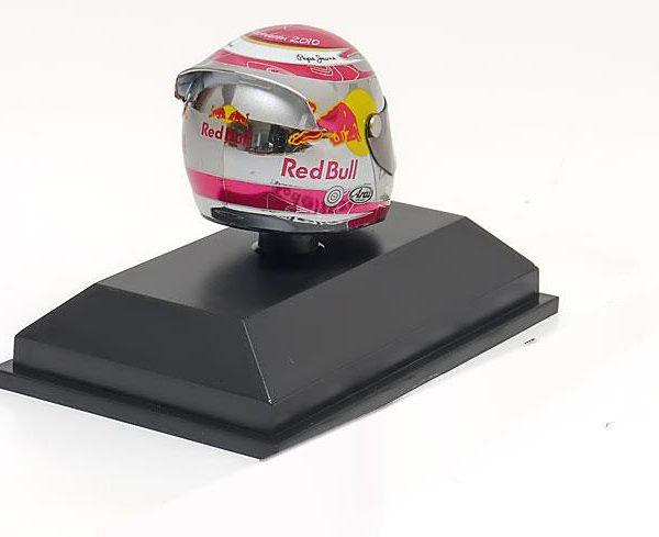Helm Sebastian Vettel Arai Helm GP Hockenheim 2010 World Champion 1-8 Minichamps