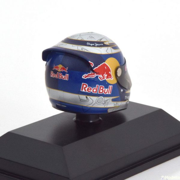 Helm Sebastian Vettel Arai Helm Red Bull Racing Interlagos 2010 World Champion 1-8 Minichamps
